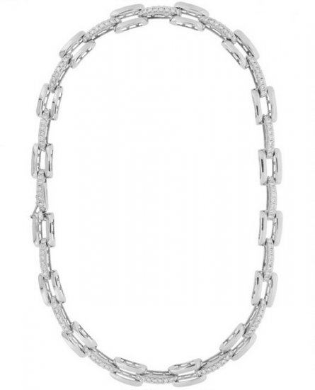 Diamond Necklace collarette with almost six carats of the finest - Click Image to Close