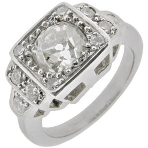 Art Deco style Diamond Ring 1.29cts
